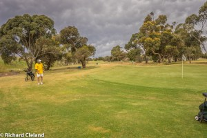 15th with approaching storm