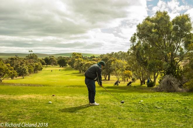 First Hole, Burra Golf Club