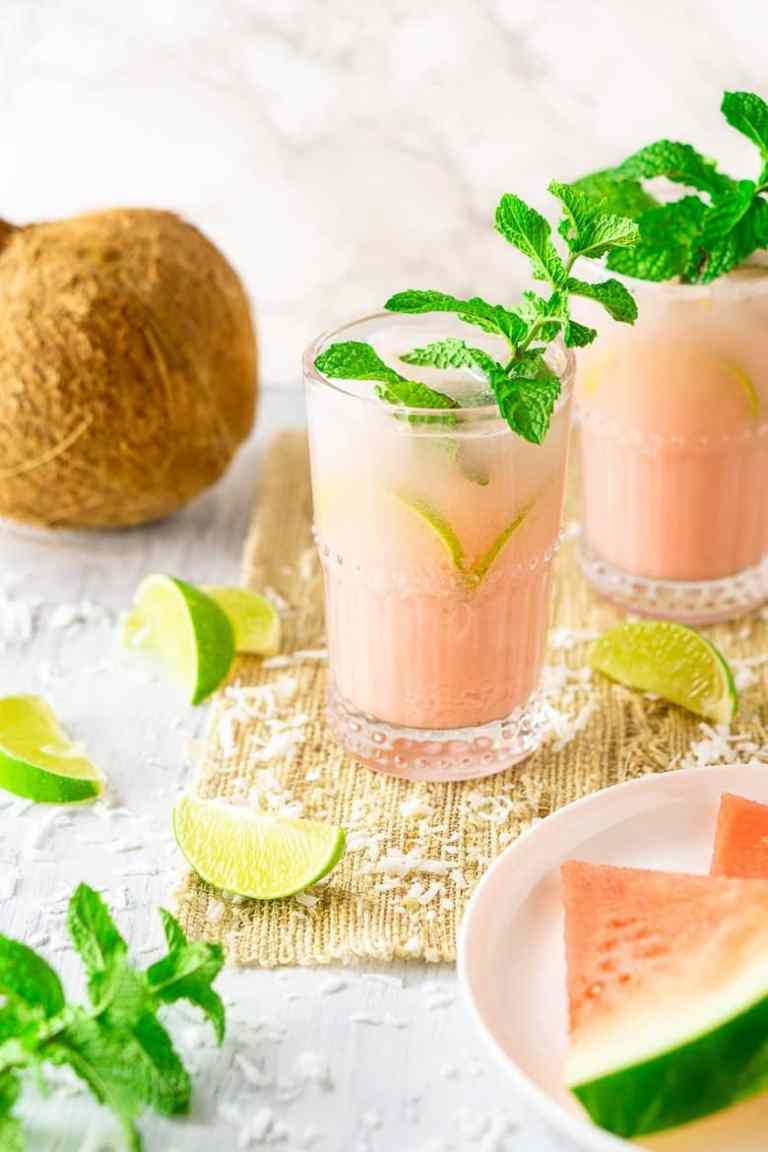 Coconut Watermelon Mojito