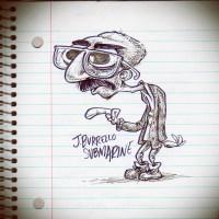 Sketchbook Entry 24: Self Portrait