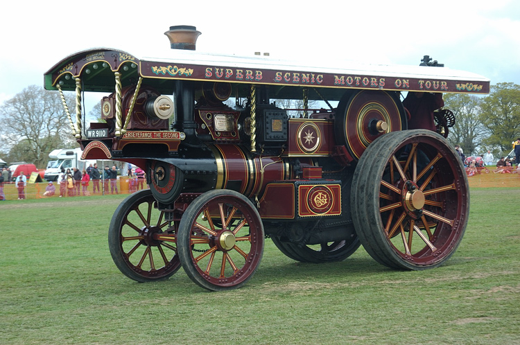 3483 PERSEVERANCE II THE BURRELL SPECIAL SCENIC SHOWMANS