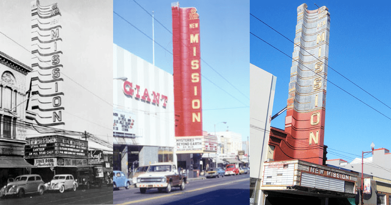 new mission theater 1943 1975 2006