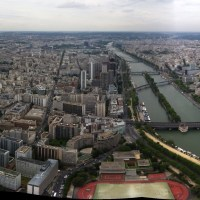 Eiffel Tower Panorama