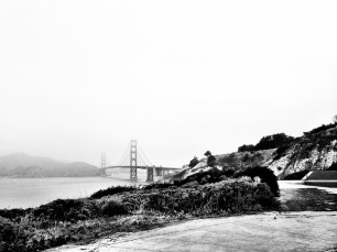 Baker Beach exploring.
