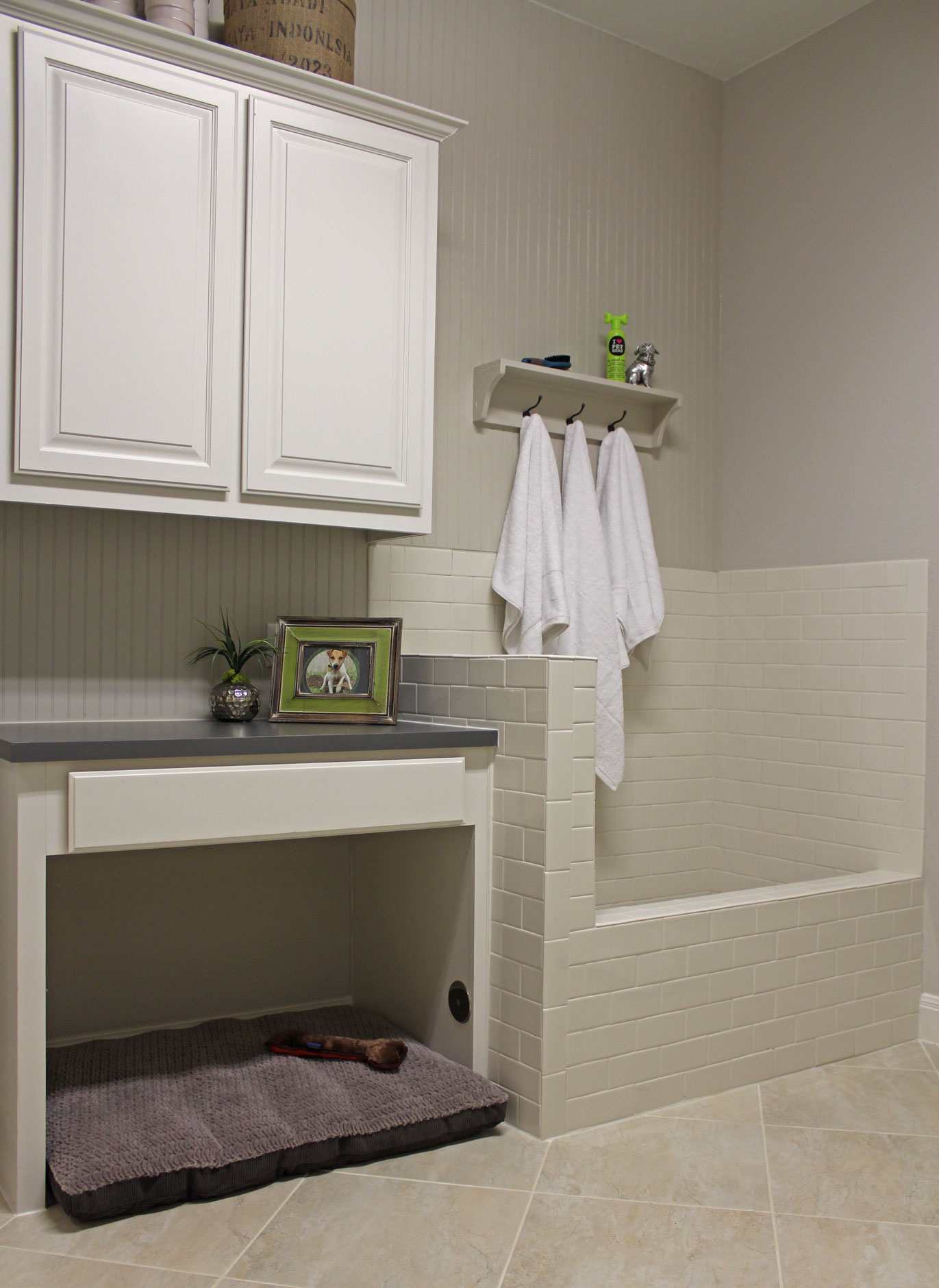 Laundry Room 07b Burrows Cabinets Central Texas