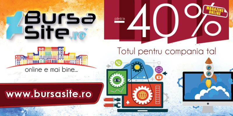 Reducere 40% la magazine virtuale!!! Reducere 40% la magazine virtuale!!! bursasite romania magazine virtuale 40 romania webdesign website site uri speciale