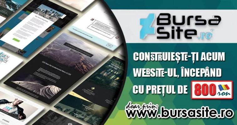 oferta de pret website Ofertă de preț website! bursasite romania oferta