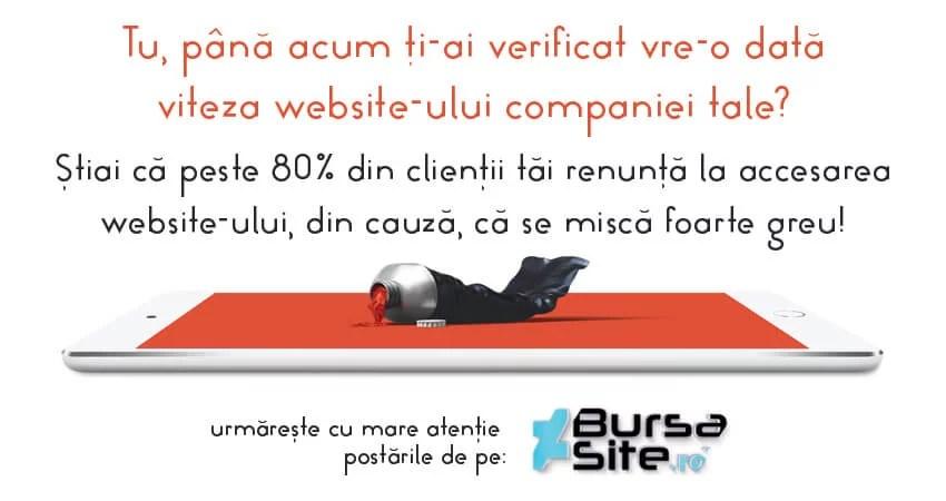 Testați viteza de încărcare a site-ului, companiei dumneavoastră!