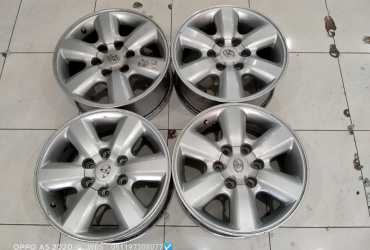 Velg second oem fortuner ring 17 pcd 6×139,7