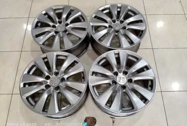 jual velg original honda accord ring 17×7,5 pcd 5×114 et50