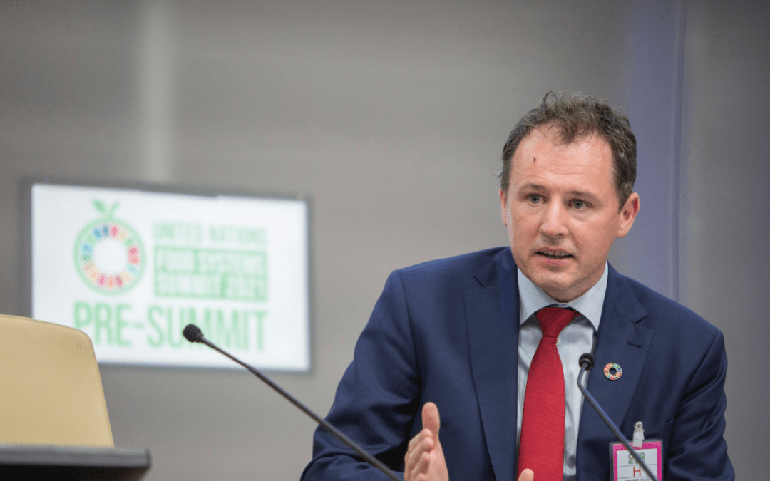 Minister McConalogue speake with forked tongue – World Food Day 2021