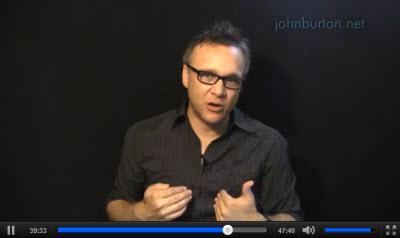 John Burton : Five Marks of the False Grace Movement