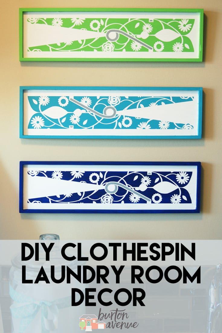 Diy Laundry Room Decor Project For Silhouette And Cricut