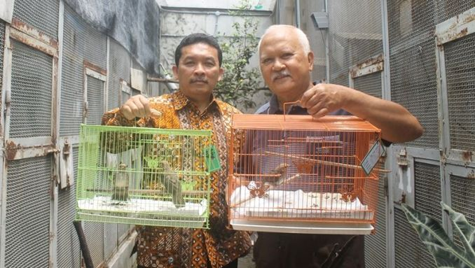 Eduardus Bimo Aksono (kiri) dan Gunawan (kanan) (unair.ac.id)
