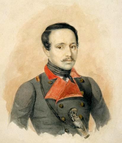 მიხეილ ლერმონტოვი, მხატვარი კ. გორბუნოვი, 1841