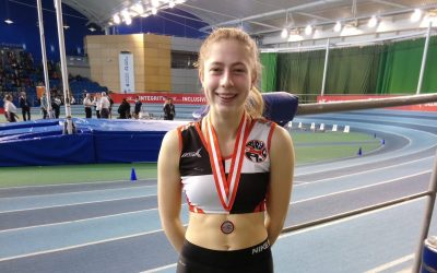 Valiant Vaughan Vaults to Silver in Nationals