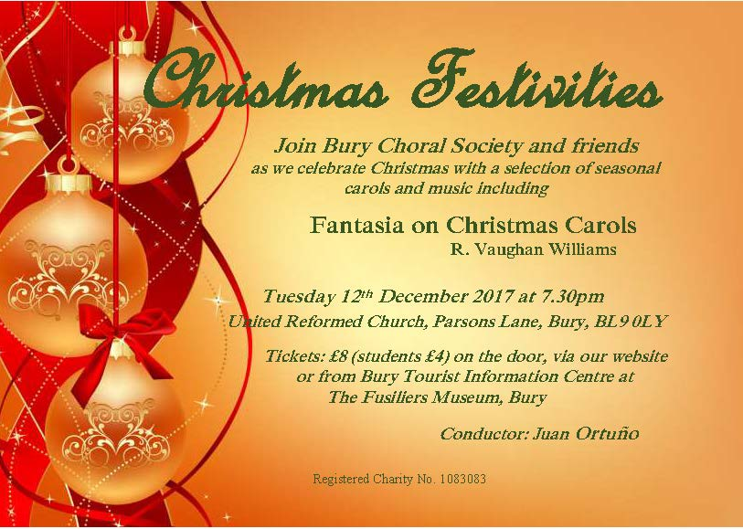 Christmas Festivities – A Concert of Seasonal Music