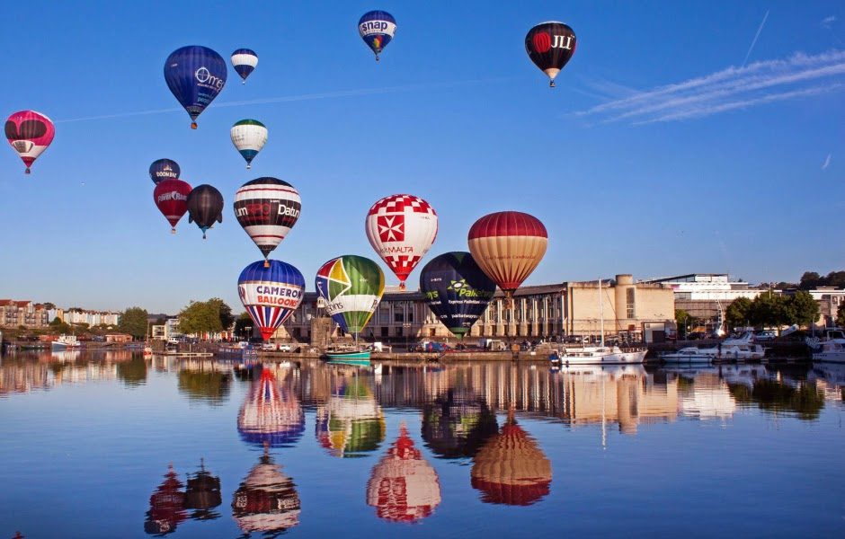 Balloons over the Harbour Bristol