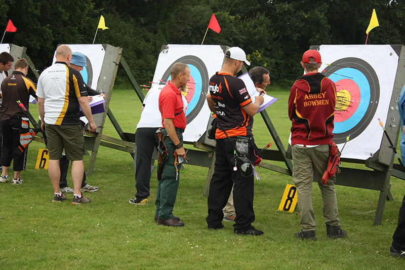 Target Practice Cleve Archers Winterbourne