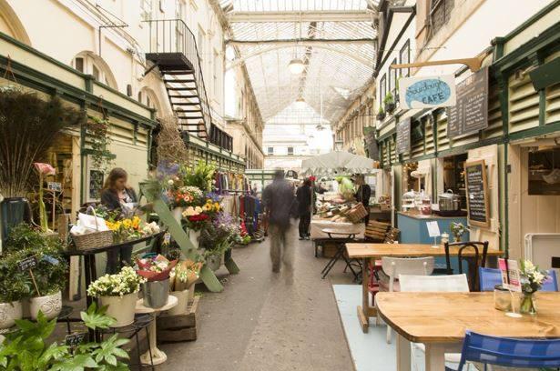 Flower St Nicholas Market Bristol