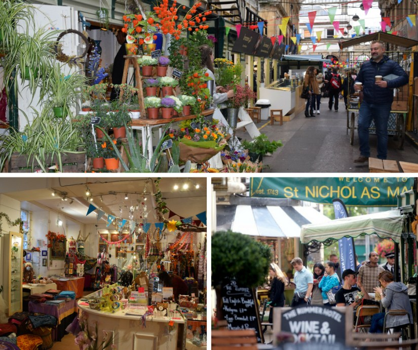 Flowers and gifts St Nicholas Indoor Market Bristol