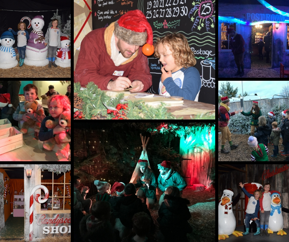 Christmas Experience Avon Valley Country Park Bristol
