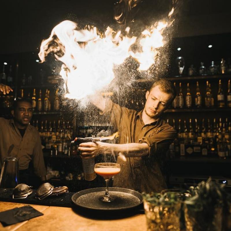 Aluna Trendy Cocktail Bar Bristol