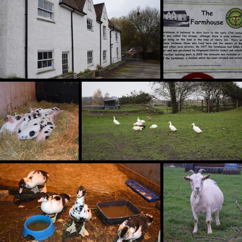 Grimsby Farm by Bury Hill Farm
