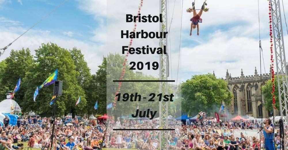 Bristol Harbour Festival 19th – 21st July 2019