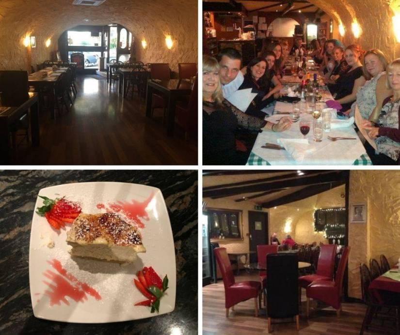 La Grotta Italian Restaurant Bristol