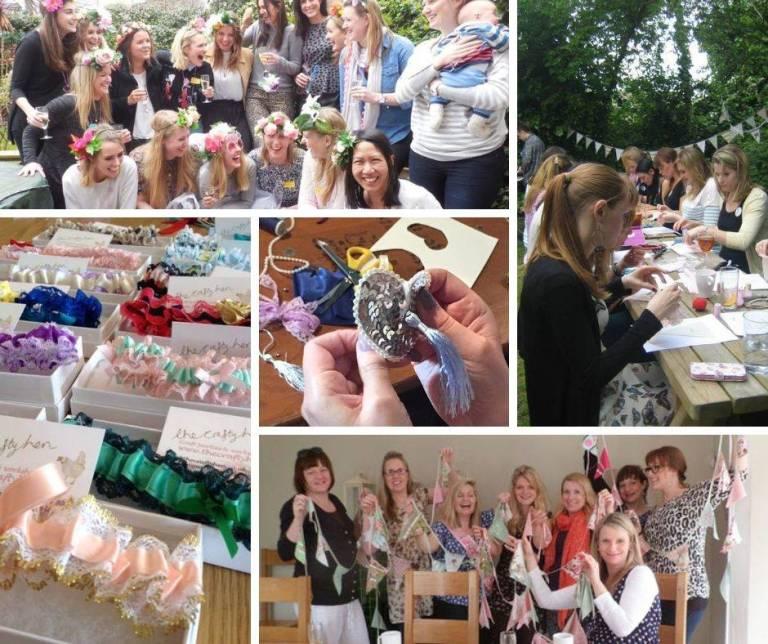 The Crafty Hen Bristol Hen Parties