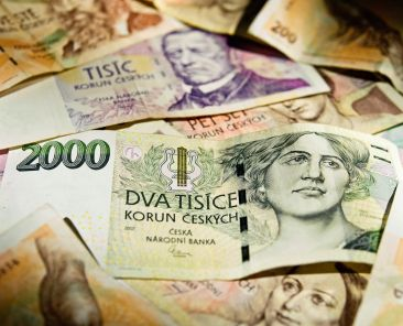 koruna bankovky