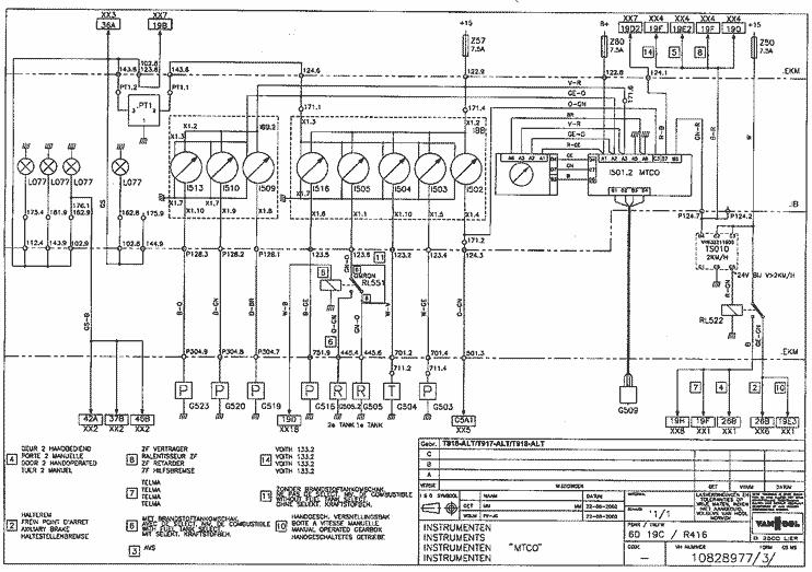 VAN HOOL Coach Manual & Wiring Diagrams  Bus & Coach