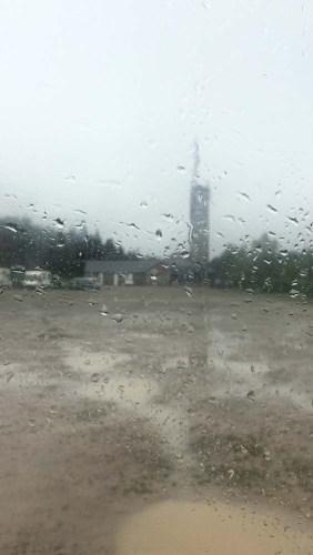 Regen am Signal Botrange