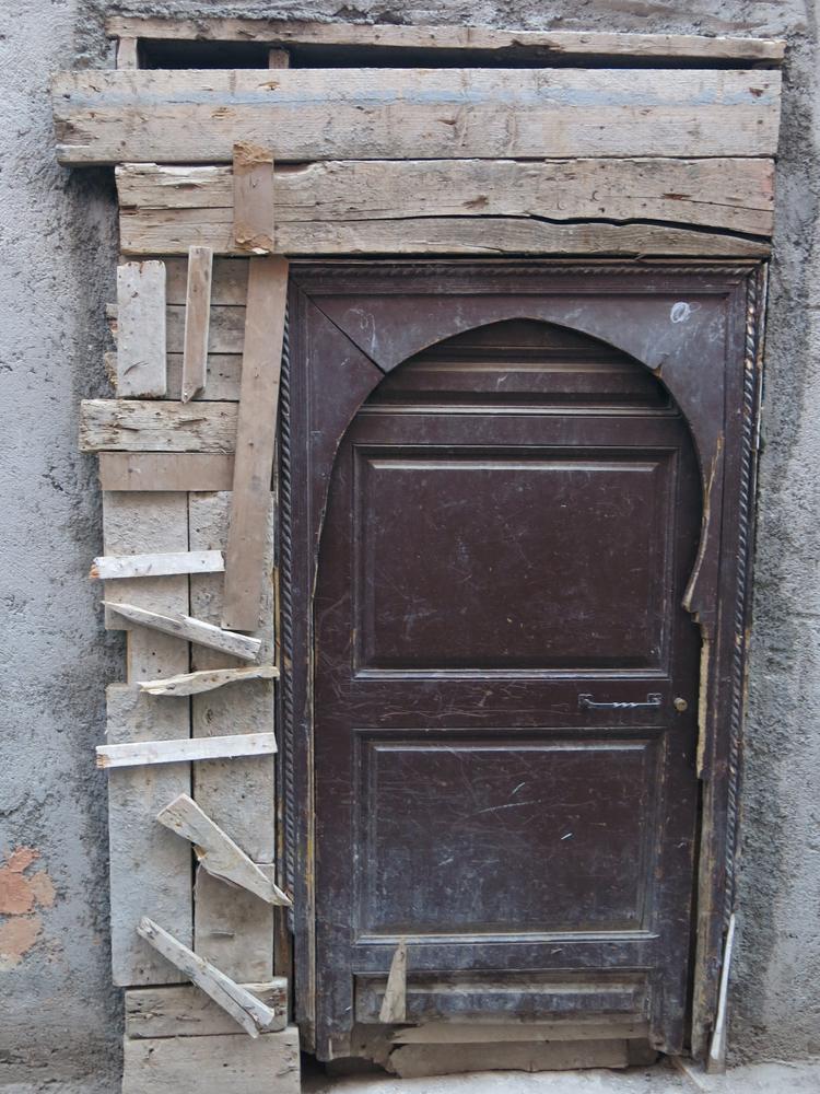 es gab nur noch die kleine Tür, egal, wird passend gemacht