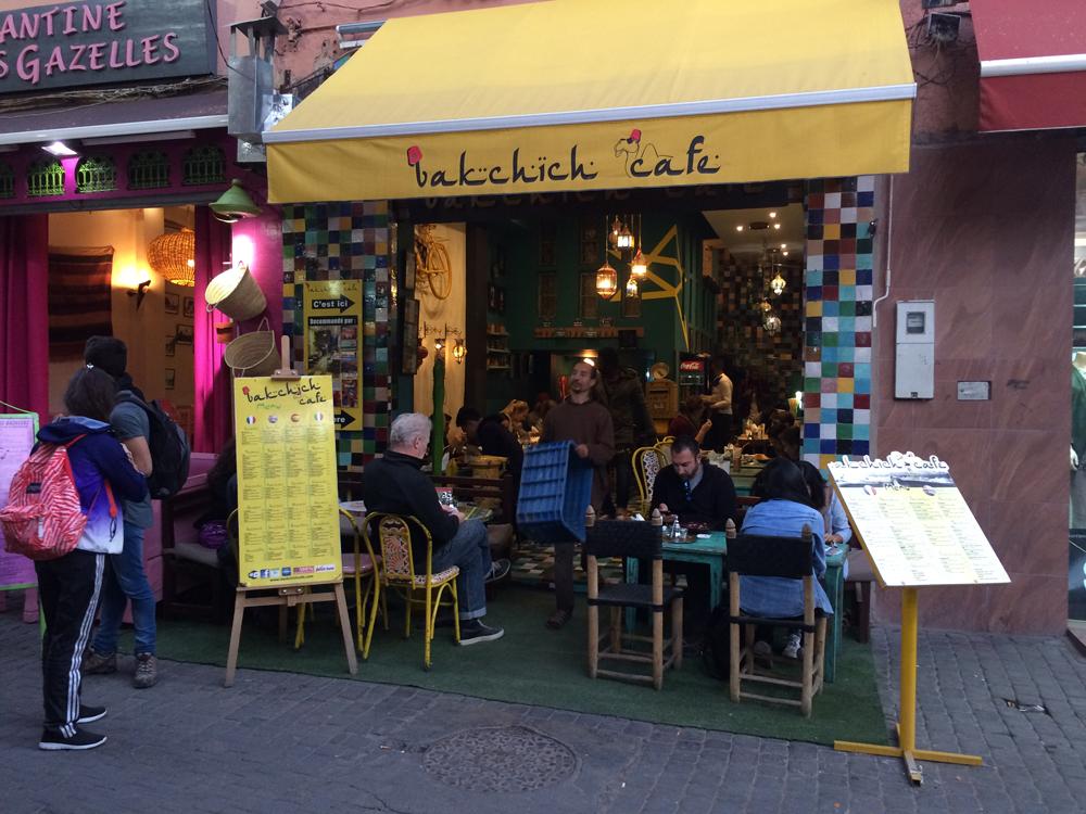 Bakchich Café, Marrakech