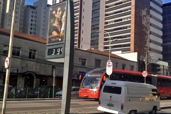 Será que faz calor em Curitiba?