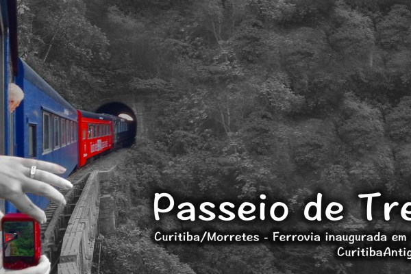[VIDEO] Passeio de Trem Curitiba Morretes - Melhores Momentos