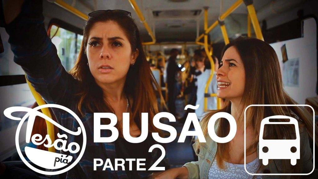 TESÃO PIÁ - BUSÃO - Parte 2