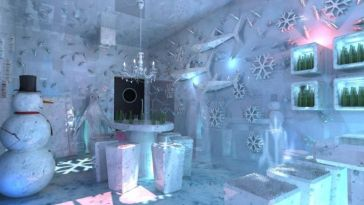 Bar de gelo será inaugurado em outubro no shopping Total