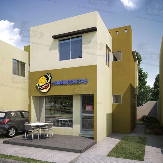 Casas en Reynosa -  Casa tienda - Fraccionamiento Ventura