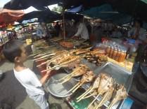 Mercado del cangrejo, Kep