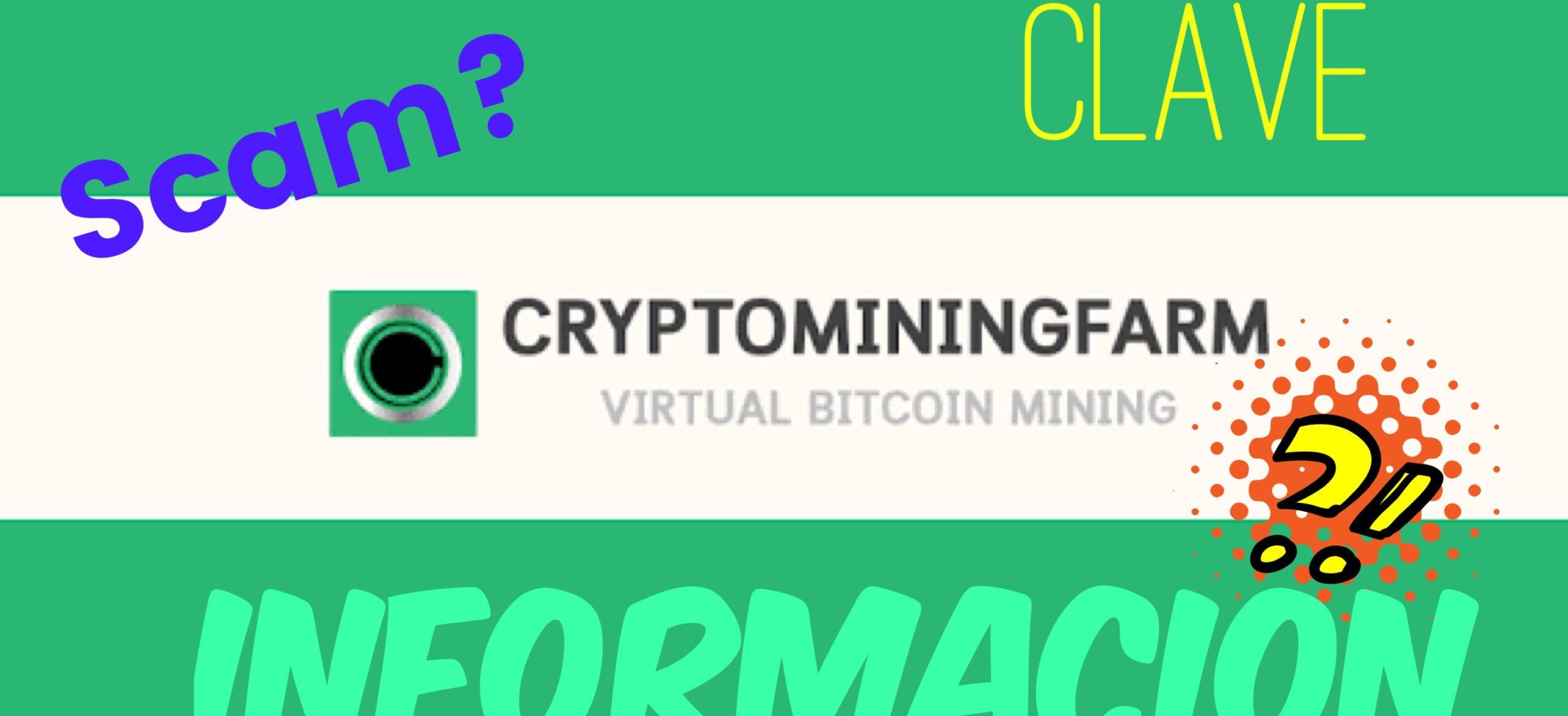 En este momento estás viendo CryptoMiningFarm Información MUY Importante