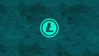 Aqua Litecoin Logo - 1920x1080p - LTC Wallpaper HD
