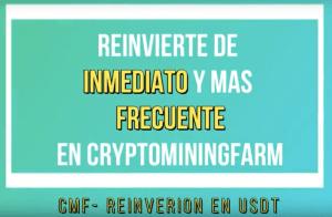 Lee más sobre el artículo Re-invierte en segundos y mas frecuente en CryptoMiningFarm con USTDT *Tutorial*