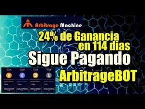 Lee más sobre el artículo ArbitrageBOT 114 dias y 24% de ganancia (Sigue pagando)