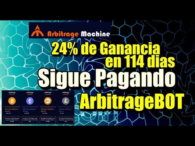 En este momento estás viendo ArbitrageBOT 114 dias y 24% de ganancia (Sigue pagando)