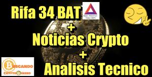 Lee más sobre el artículo Rifa 34 BAT + Noticias Crypto + Análisis Tecnico Bitcoin