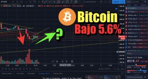 Lee más sobre el artículo Bitcoin bajo 5.6%… Ahora que?