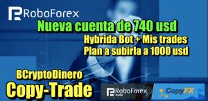 Lee más sobre el artículo RoboForex CopyTrade Nueva cuenta de 740 usd